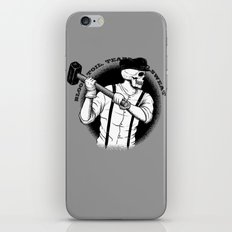 Blood, Toil, Tears, and Sweat iPhone & iPod Skin