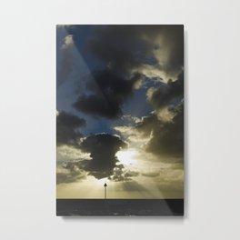 Sunset in Gran Canaria Metal Print