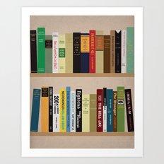BOOKS!!! Art Print