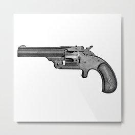 Revolver 6 Metal Print