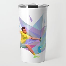 Badminon  Travel Mug