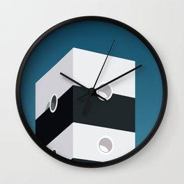 Minimalism Building Wall Clock