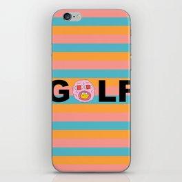 golf tritone iPhone Skin