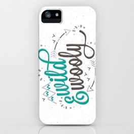 Wild & Wooly I iPhone Case
