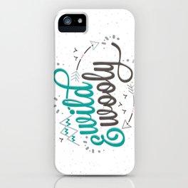 Wild & Wooly I iPhone Case