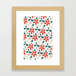 Deck the Halls (Patterns Please) Framed Art Print