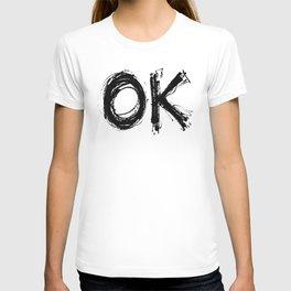 Scratch Pad OK T-shirt