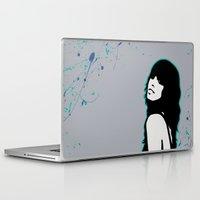 capricorn Laptop & iPad Skins featuring Capricorn by Bree Stillwell Craft
