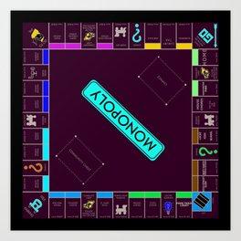 Monopoly Art Print