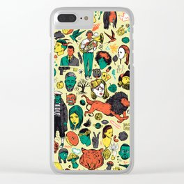 More Things Clear iPhone Case