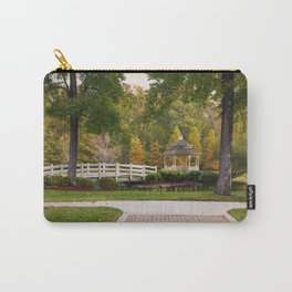 Gazebo In Autumn Carry-All Pouch