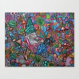 Water Troll Canvas Print