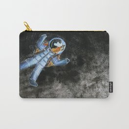Snail in space Carry-All Pouch