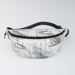 sailing the seas mode Fanny Pack