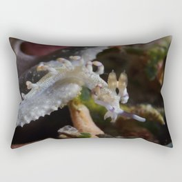 Oriental Dragon Nudibranch Rectangular Pillow