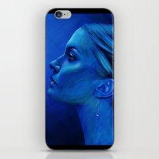 Blauw iPhone & iPod Skin