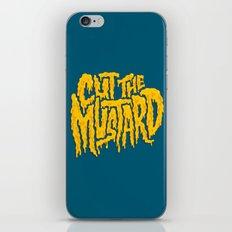 Cut The Mustard iPhone & iPod Skin