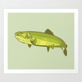 Trout Art Print