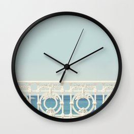 Looking At The Sea Wall Clock
