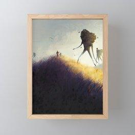 The Earth Giants Framed Mini Art Print