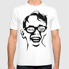 Oiling and Lotioning, Lotioning and Oiling Mens Fitted Tee SMALL White