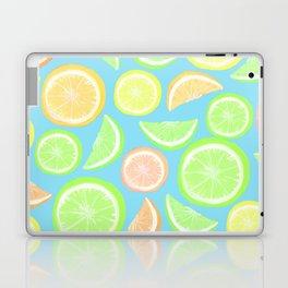 Mixed Citrus - blue Laptop & iPad Skin