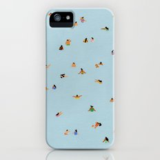 Dusty blue II Slim Case iPhone (5, 5s)