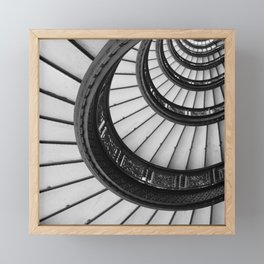 Rookery Stairs Framed Mini Art Print