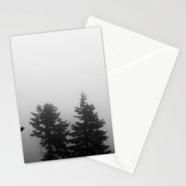 Tree in the Fog I Foggy Trees I Nature Photography I  Photograpy Stationery Cards