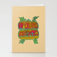 hakuna Stationery Cards featuring Hakuna Color by Diego Tirigall