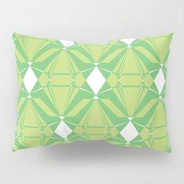 Abstract [GREEN] Emeralds Pillow Sham
