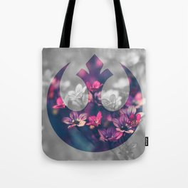 Floral Rebel Alliance Tote Bag