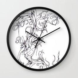 Lianas 3 Wall Clock