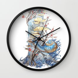 First Frost Wall Clock