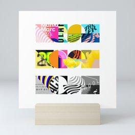 NOISE, NOISE, NOISE [COLLAGE] Mini Art Print
