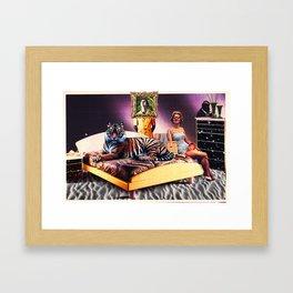 For the soul. Framed Art Print
