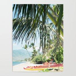 Aloha Sugar Beach Poster
