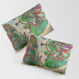 Kamadeva Bless our Love Pillow Sham