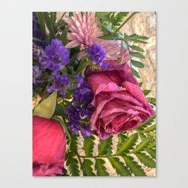 Flower boutique Canvas Print