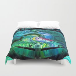 The Pearl Of Wisdom Duvet Cover