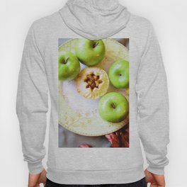 Mini Apple Pie with Green Apples Hoody