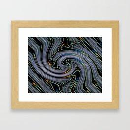 Light colors Framed Art Print