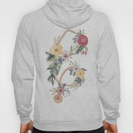Stethoscope with Florals Hoody