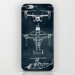 BELL BOEING V-22 OSPREY -1989 iPhone Skin