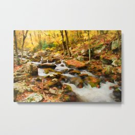 Gold Rush Metal Print