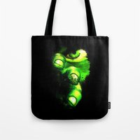 hulk Tote Bags featuring Hulk by Juliana Rojas | Puchu