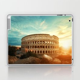 Colosseum Amphitheatre Rome Italy Laptop & iPad Skin