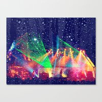 tool Canvas Prints featuring Tool  by Alicia