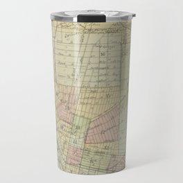 Vintage Map of Buffalo NY (1866) Travel Mug