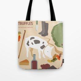 Truffle Hunting Tote Bag